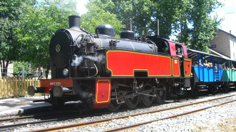 Le petit train à vapeur d'anduze - Cévennes